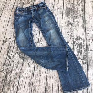 BIG STAR Sweet Low Boot Jeans 27L Distressed